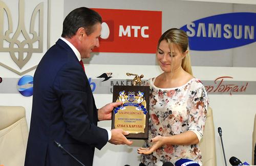 Ольга Харлан признана лучшей спортсменкой месяца шестой раз