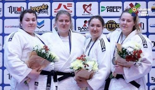 Черкаська дзюдоістка Анастасія Сапсай завоювала бронзу наетапі Кубку Європи