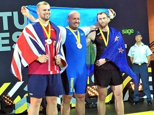 Українська збірна здобула щетри медалі на«Іграх нескорених»