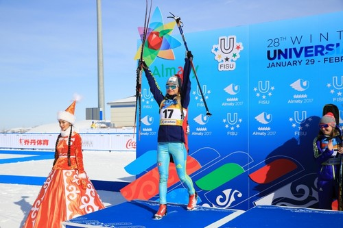 Сборная Казахстана завоевала еще семь наград наУниверсиаде