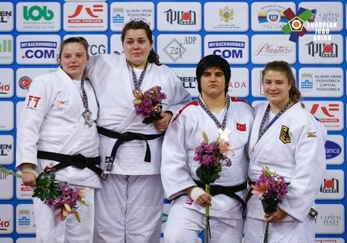 Украинка одолела  намолодежном чемпионате Европы подзюдо