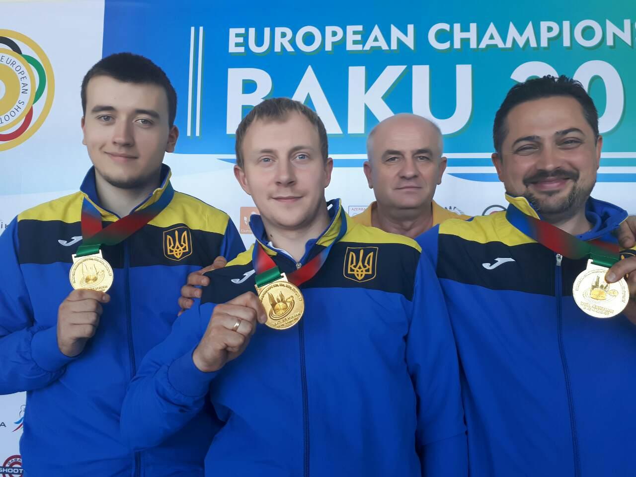 Сборная Украины — чемпион Европы по пулевой стрельбе!, фото-1